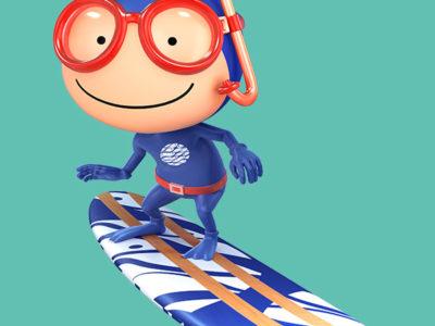 Mascote do Oceanário